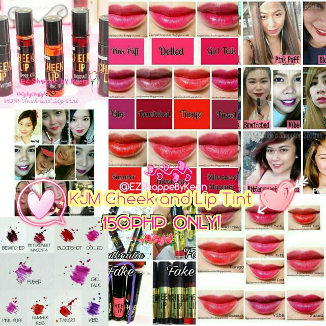 KJM Cheek And Lip Tint (Wholesale&ResellAreWelcome)
