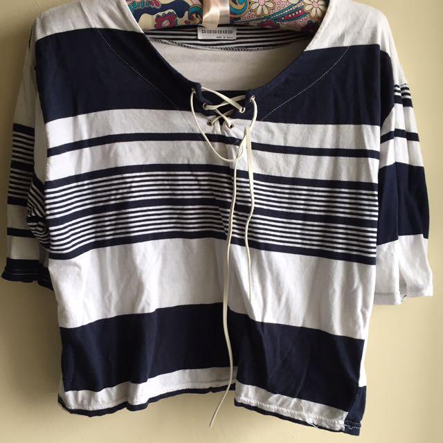 Korean Stripe Top!