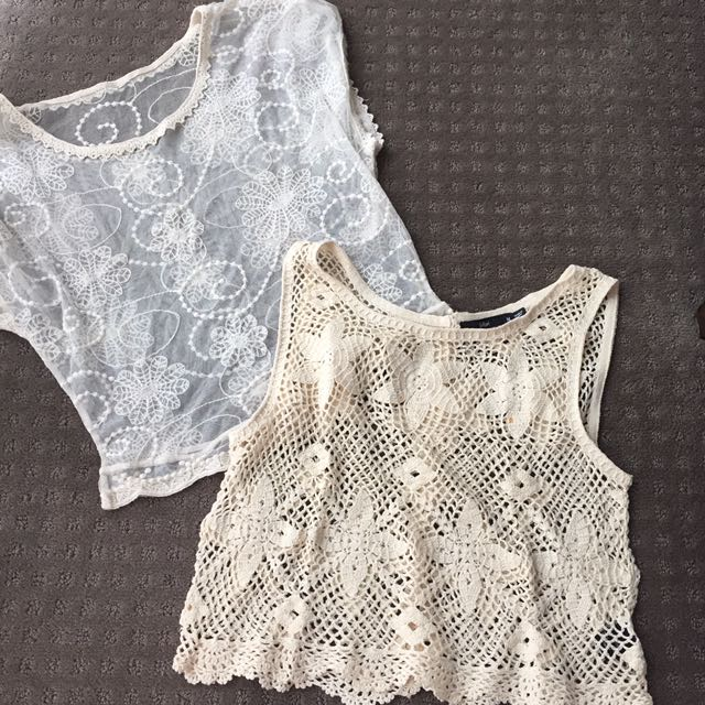 Lace Tops 2 For 5