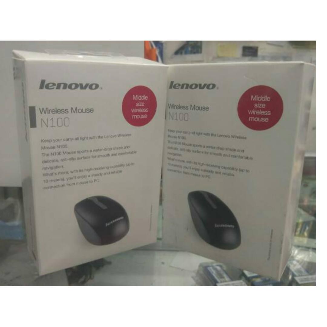 LENOVO Wireless Mouse N100 Black