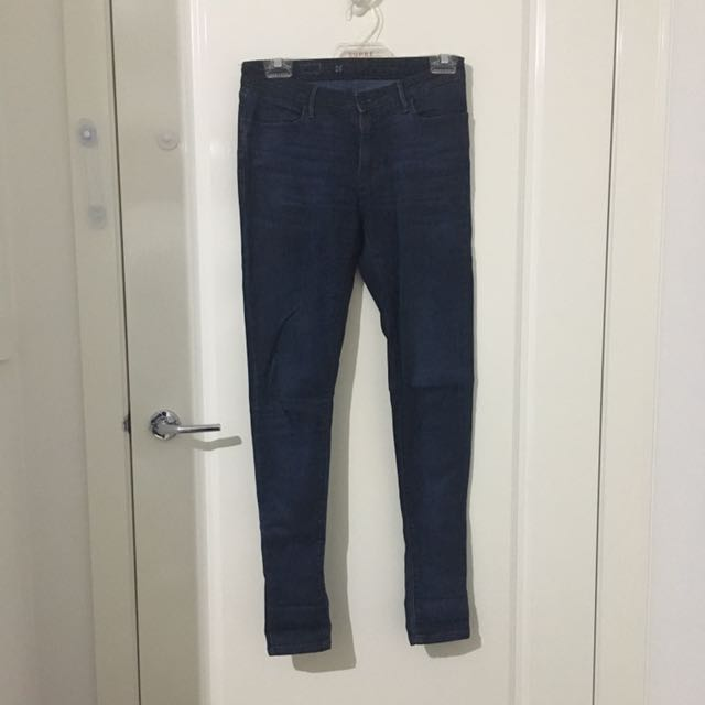 Levi's Blue Coated Jeans