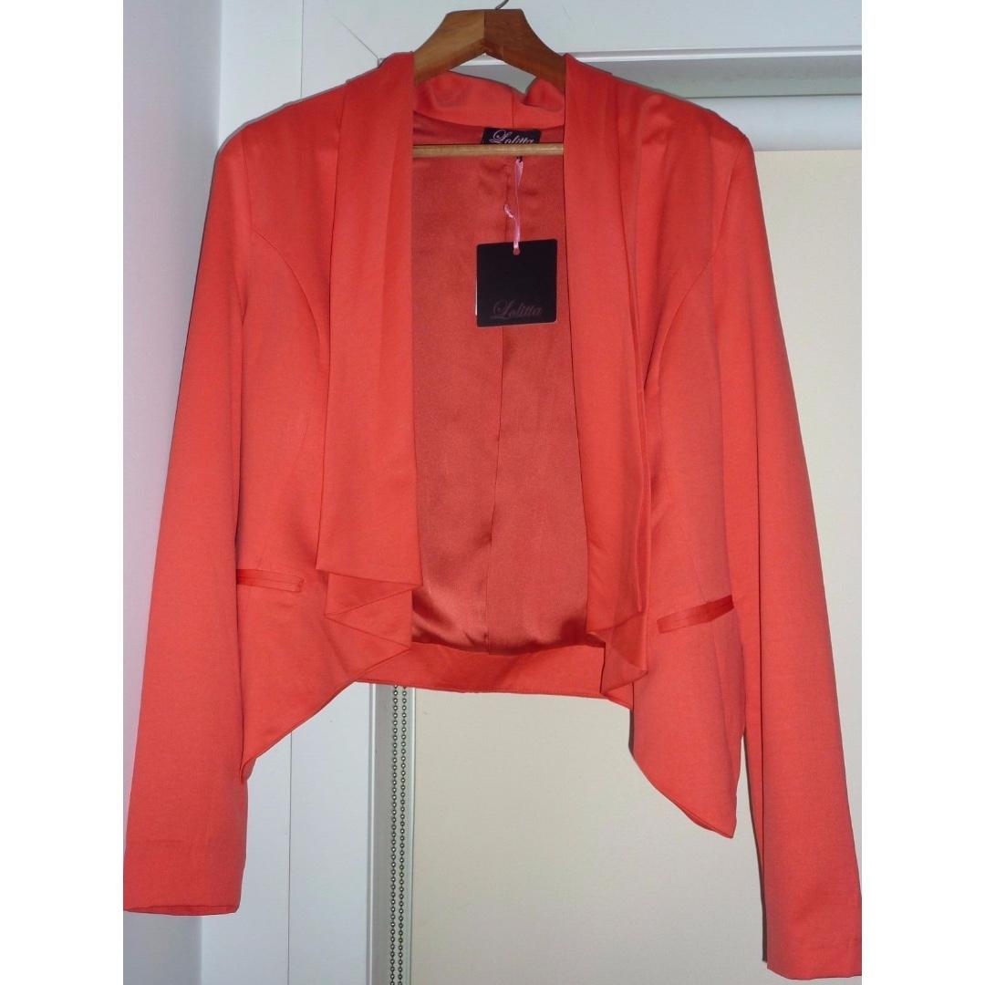 LOLITTA Josie Blazer - Size 8 - Melon - Brand New with tags