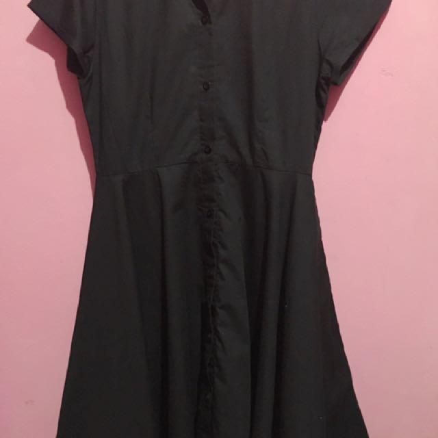 Lookboutiquestore Dress Hitam