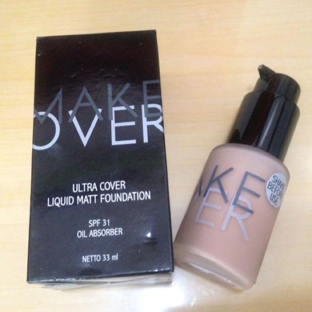 Make Over Ultra Cover Liquid Matt Foundation No.1
