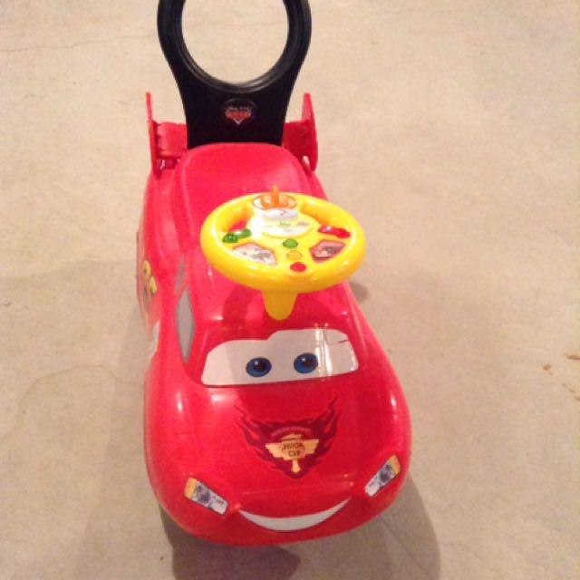 Disney Pixar McQueen Lighting To Ride On