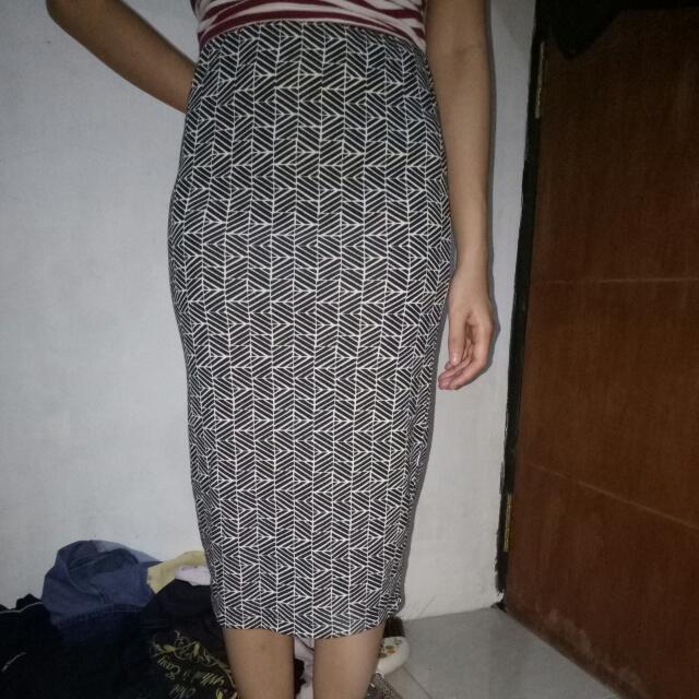 Midi Skirt Forever21