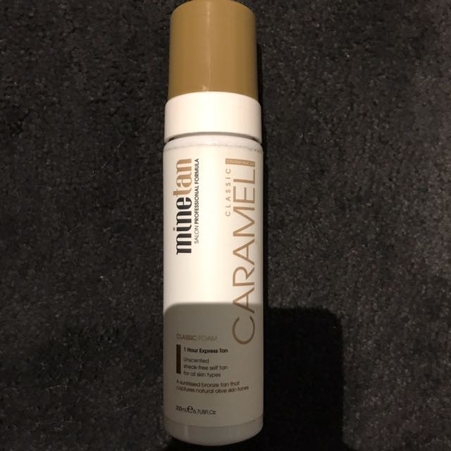 Minetan Caramel 1 Hour Foam Tan