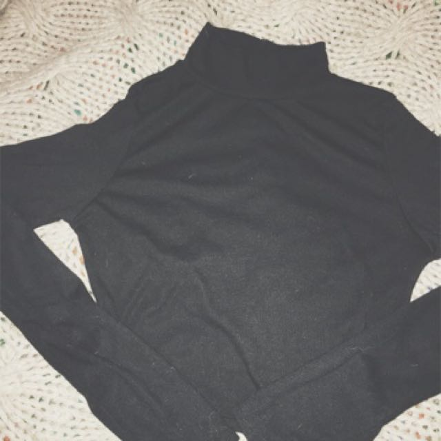 MISSGUIDED Long Sleeve Crop