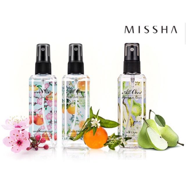 MISSHA 身體 香氛噴霧 香水 批發 新口味