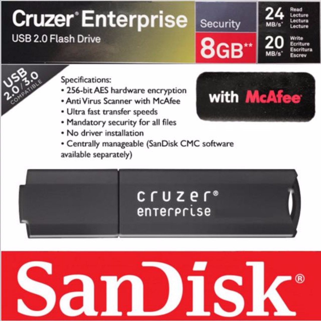 automatically scan for viruses when plugging in a usb flash drive mcafee