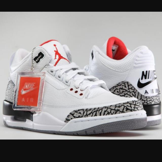 buy popular d0ad8 bc8ee where can i buy nike air jordan 3 retro cement 27a55 09153