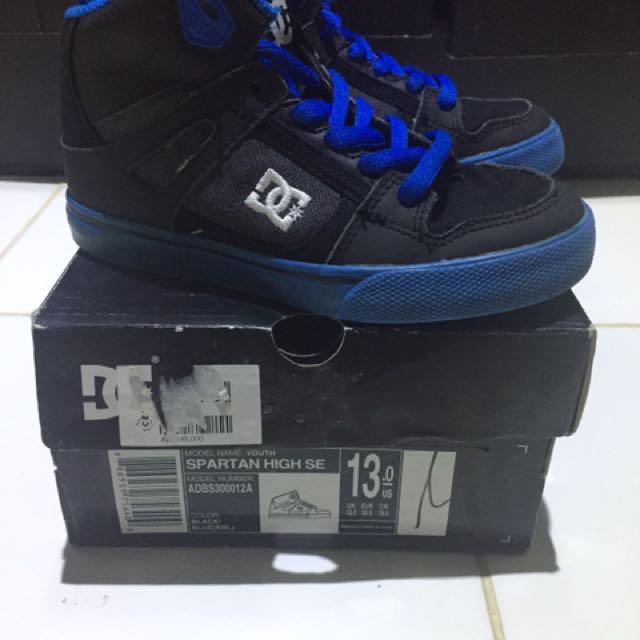 Original DC Shoes for Kids Blue