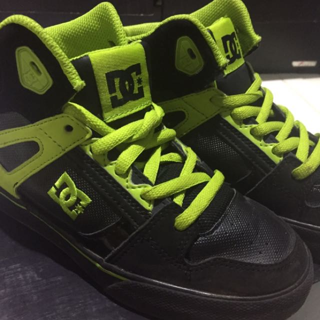 Original DC Shoes Kids Lime