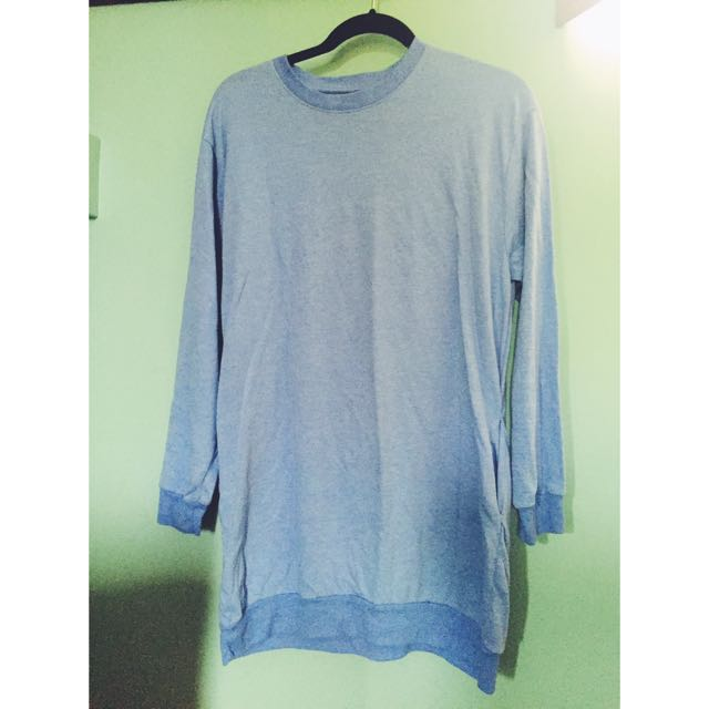 Oversize Blue Sweatshirt/jumper