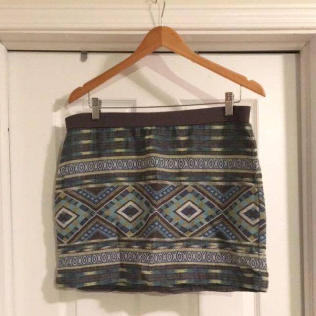 Patterned Skirt (large)