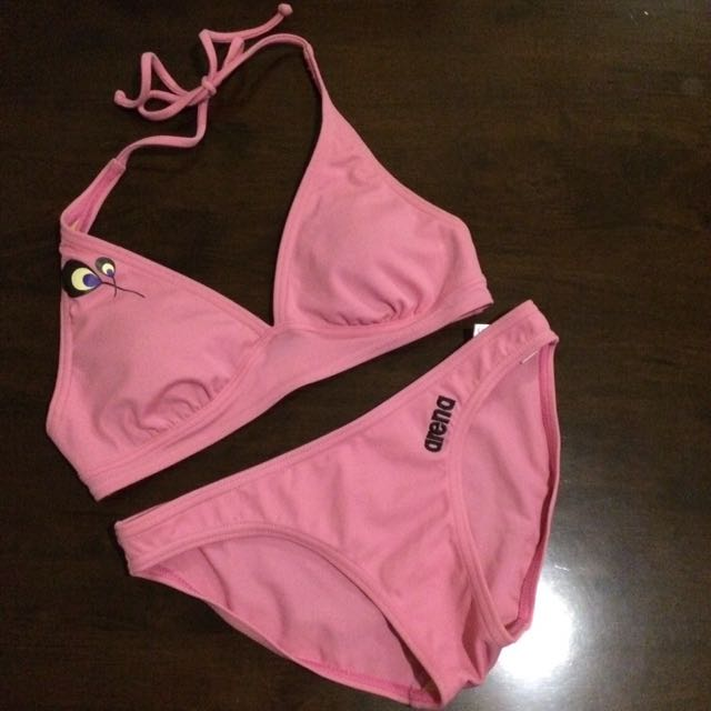 Pink Peacock 3-pc Swimmies 👙