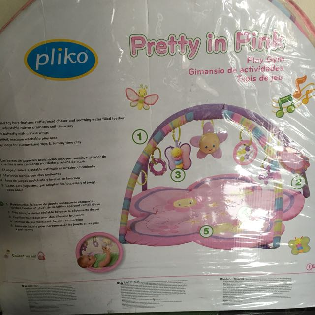 Playmat Pliko Baby in Pink