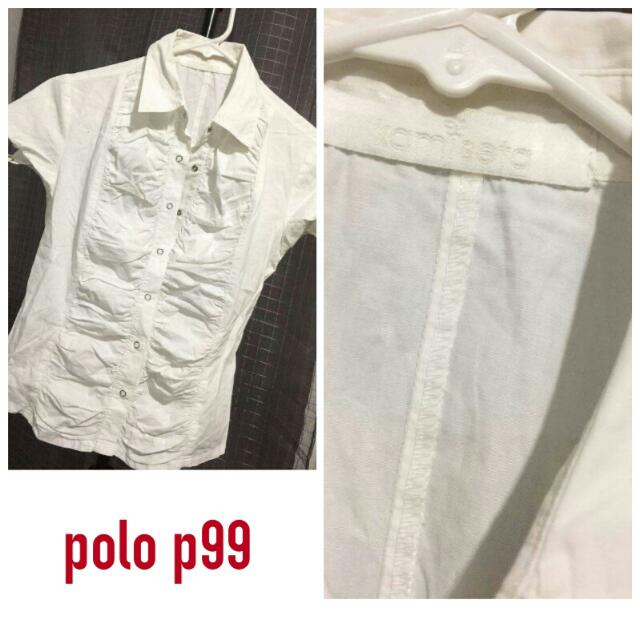 KAMISETA Polo blouse