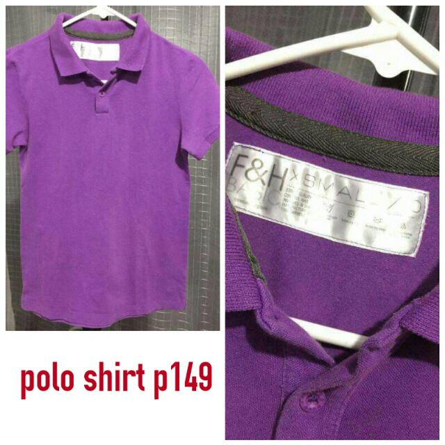 F&H Polo Shirt Sale 99