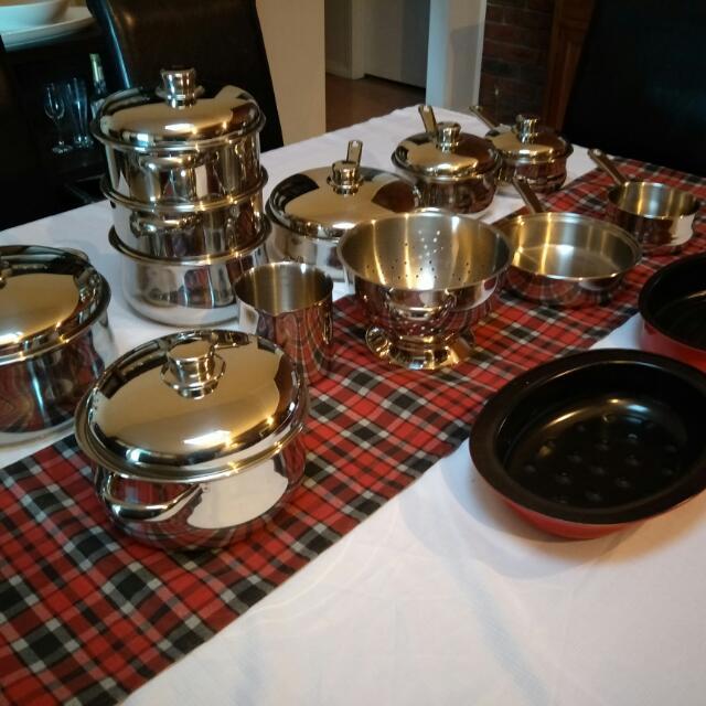 *REDUCED* Pots & Pans Set *new* Large 20pc