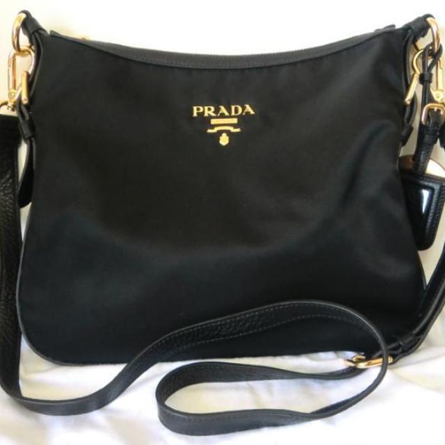 Prada Tessuto sling - Black