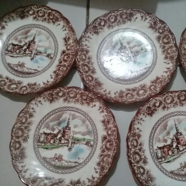Preloved Antique Plates