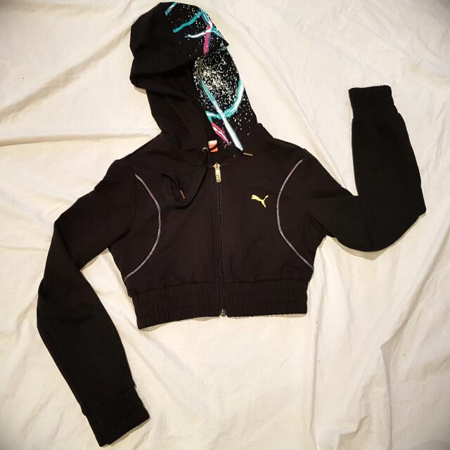 PUMA USP Collection Crop Hoodie Size XS