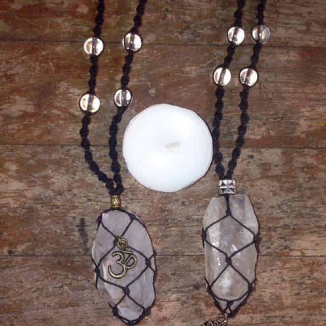 Quartz Adjustable Fit Necklaces