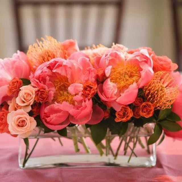 Rectangular Flower Vase X 2 Furniture Home Decor On Carousell