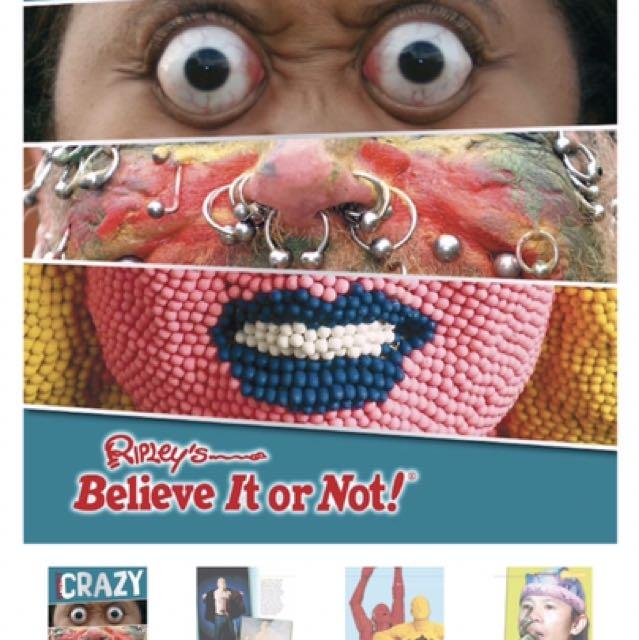 Ripley's Believe It Or Not - Utterly Crazy!