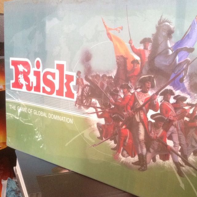 Risk Board Game w/ FREE Monopoly Deal
