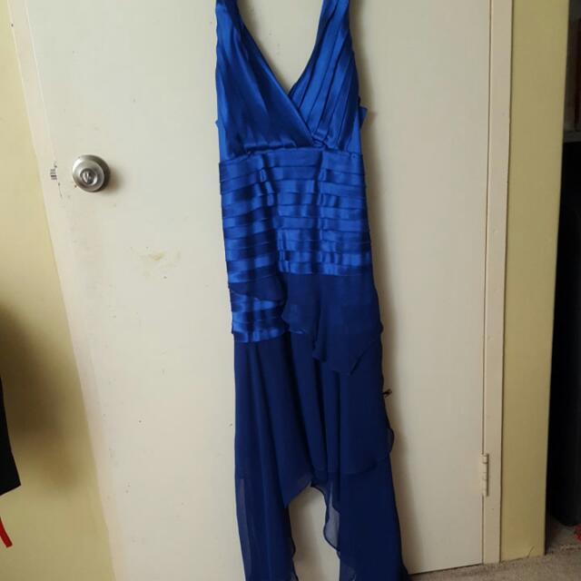 Royal Blue Cocktail Dress