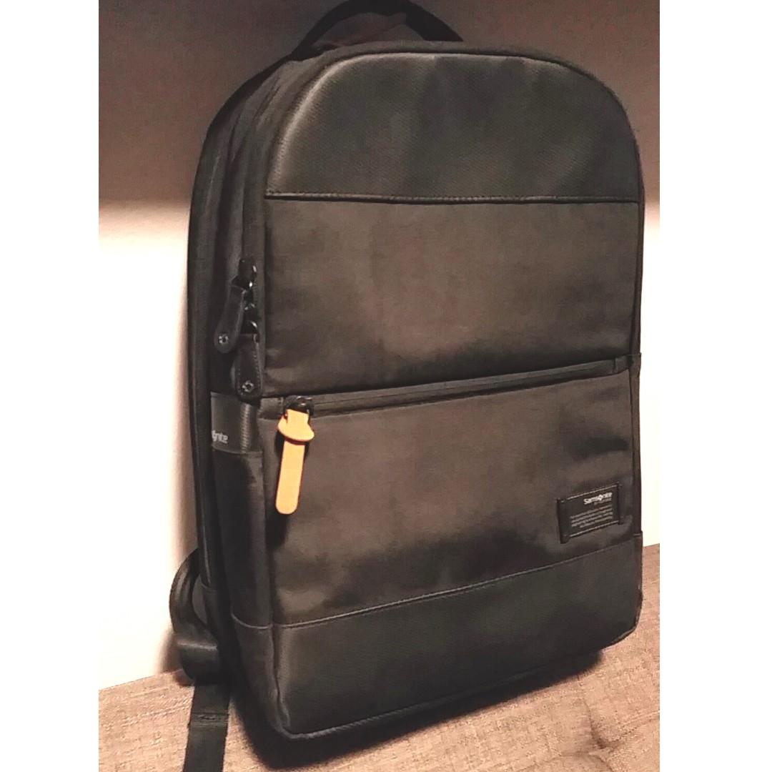 "Samsonite Avant Slim 15.4"" Laptop Backpack Black"