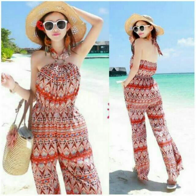 SCL: Printed Jumpsuit