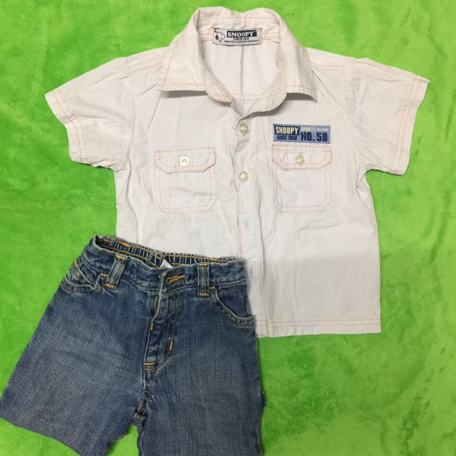 Short And Polo Shirt (set)