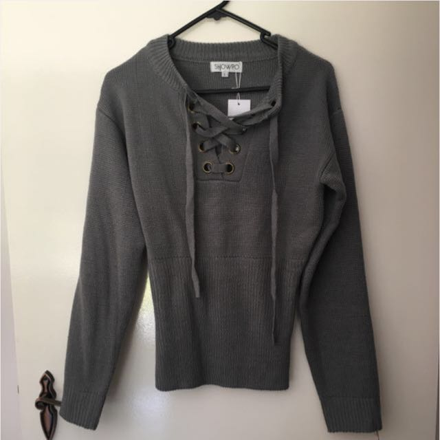 Showpo Grey Jumper