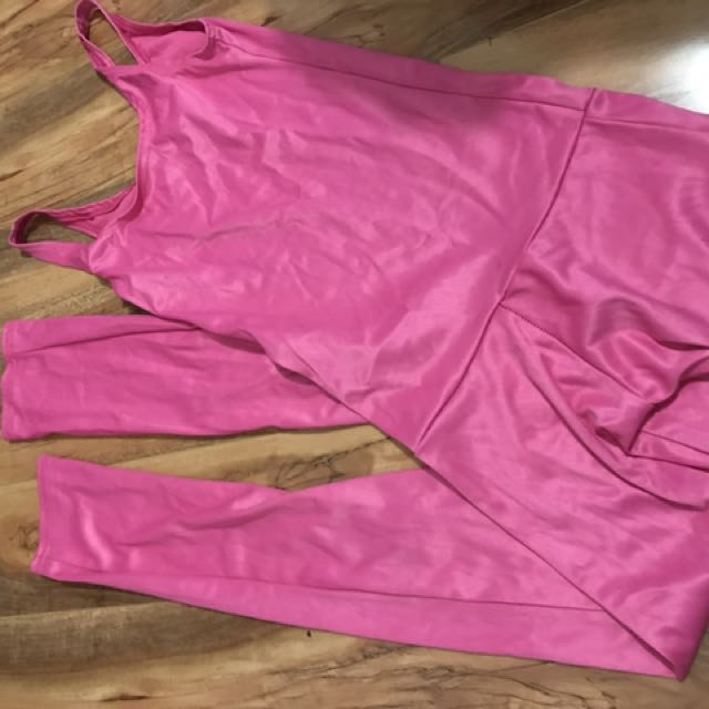 Size 6-8 Pink Catsuit