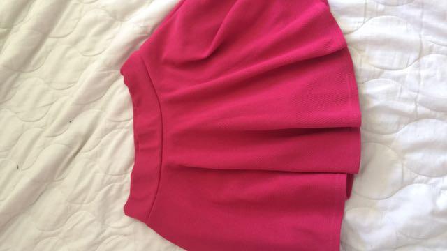 Skater Skirt W/short