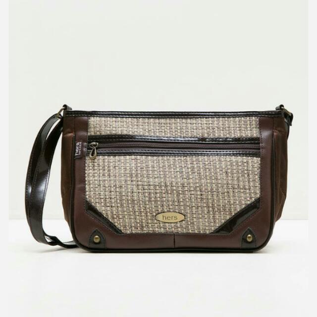 Sling Bag by Hers Bag ( NEGO TIPIS) Handbag/satchelbag/backpack/wallet/clutch/totebag/tas Wanita/fesyen Wanita
