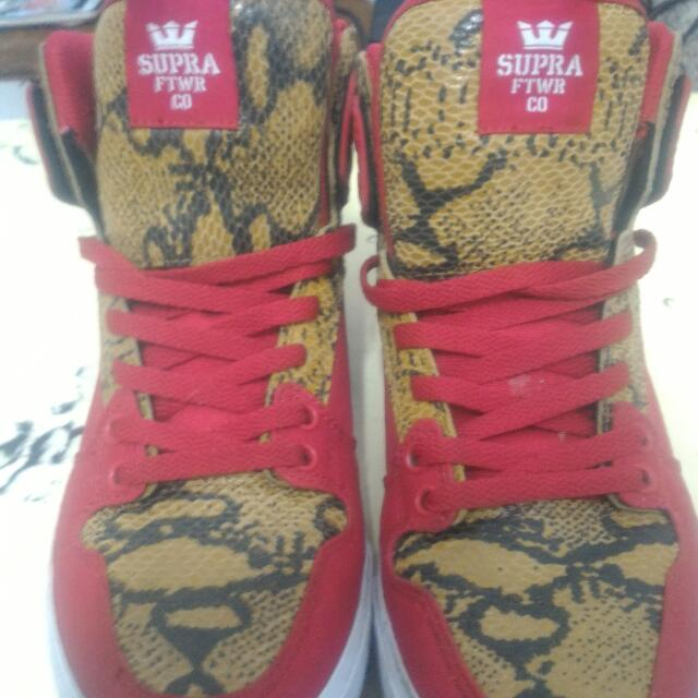 Sneakers Supra Vaider Red snake Print ed5022a26a