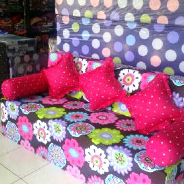 Sofabed Inoac Ukuran 200 160 20cm Home Furniture On Carousell
