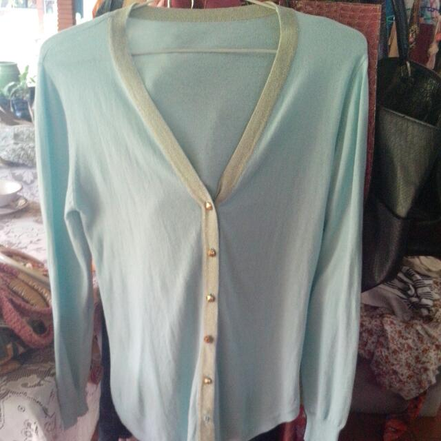 Soft blue Cardigan