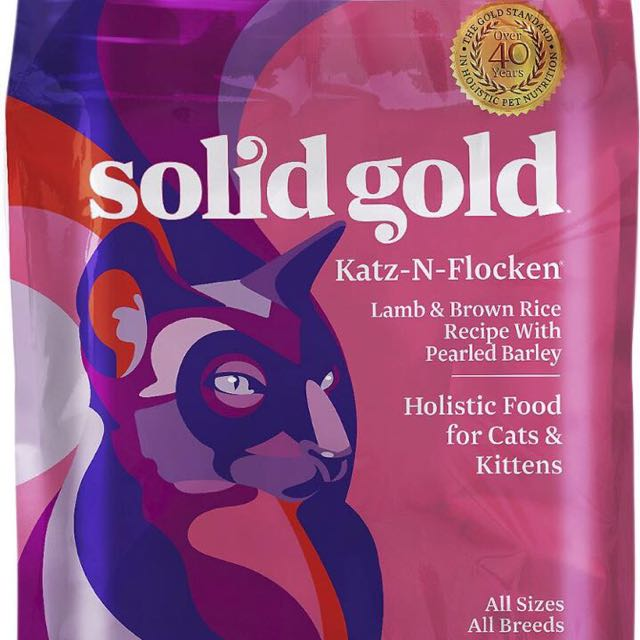 Solid Gold Cat Food (more than 4kg for sale)
