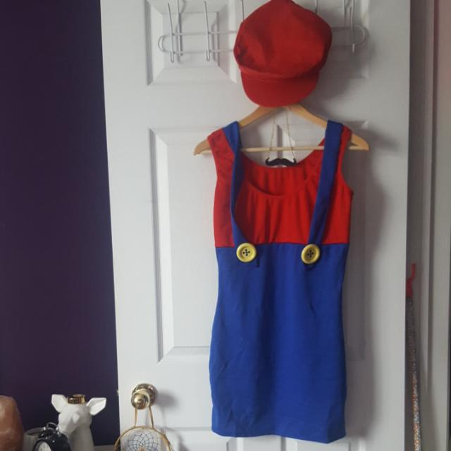 Super Mario Halloween Costume