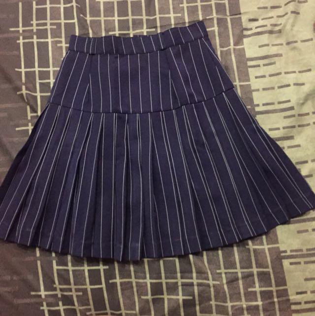 SUPERSALE - Stripe Skirt
