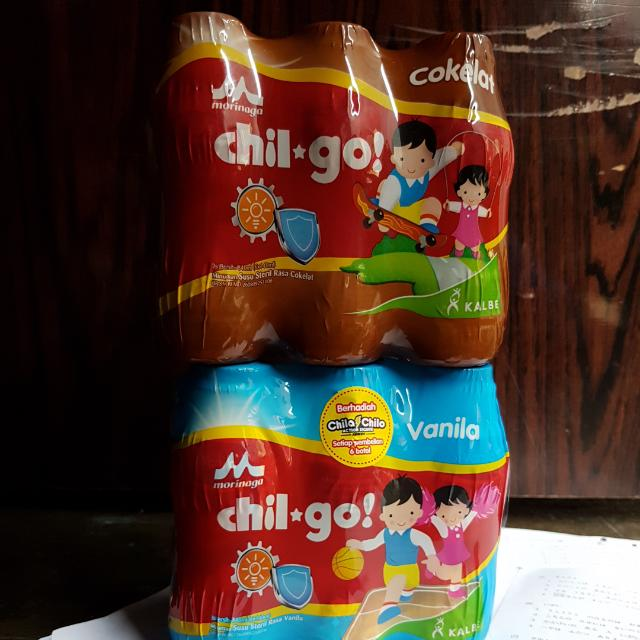 susu chil go rasa vanila dan coklat