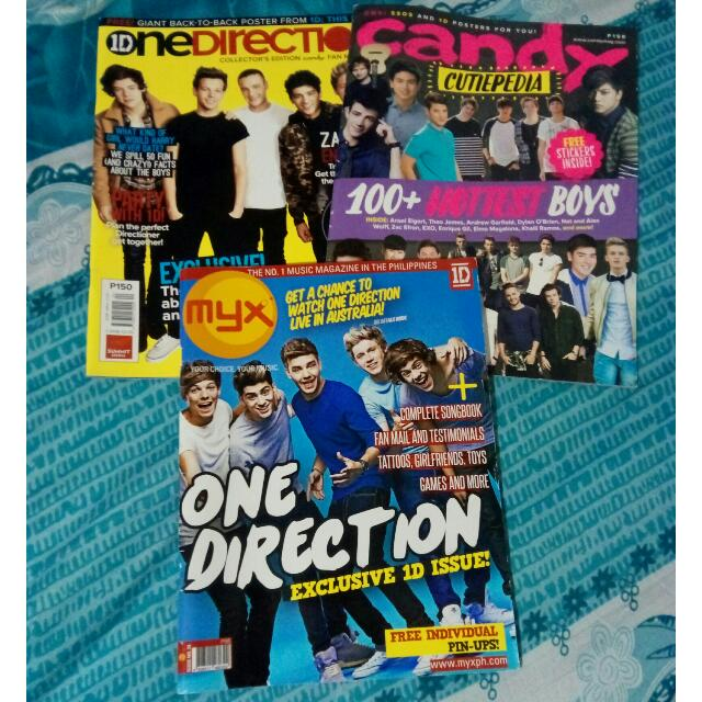 [TAKE ALL] One Direction Collector's Edition Magazines