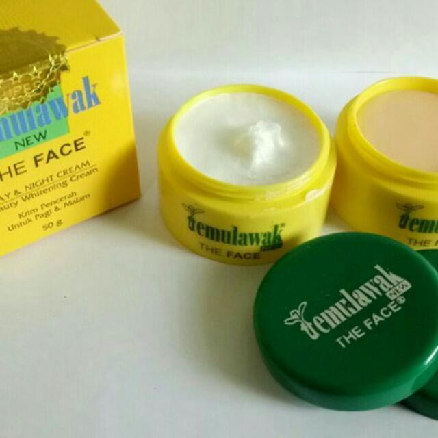 The Face Cream Temulawak (Hanya Krim)