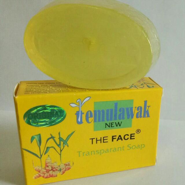 The Face Sabun Temulawak New (Hanya Sabun)