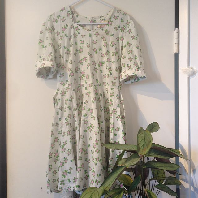 tie up vintage dress